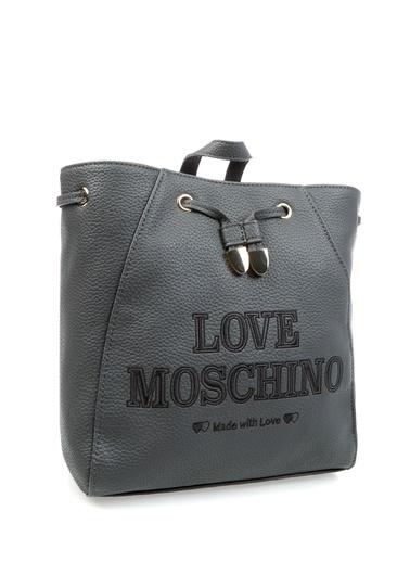 Love Moschino Çanta Gri